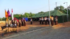 Ekstrakulikuler Pramuka Pondok pesantren modern sabilurrasyad